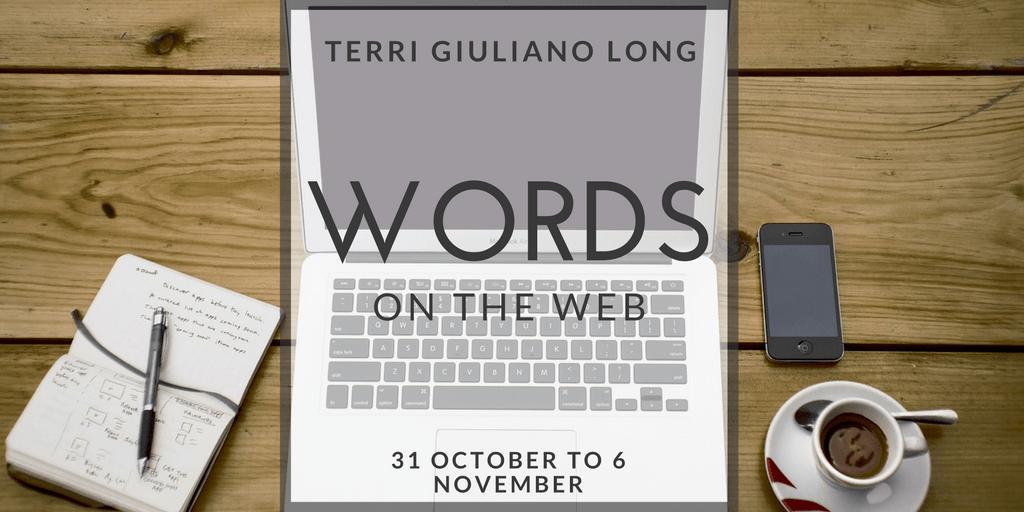 Storify Recap: Words on the Web (31 October to 6 November)
